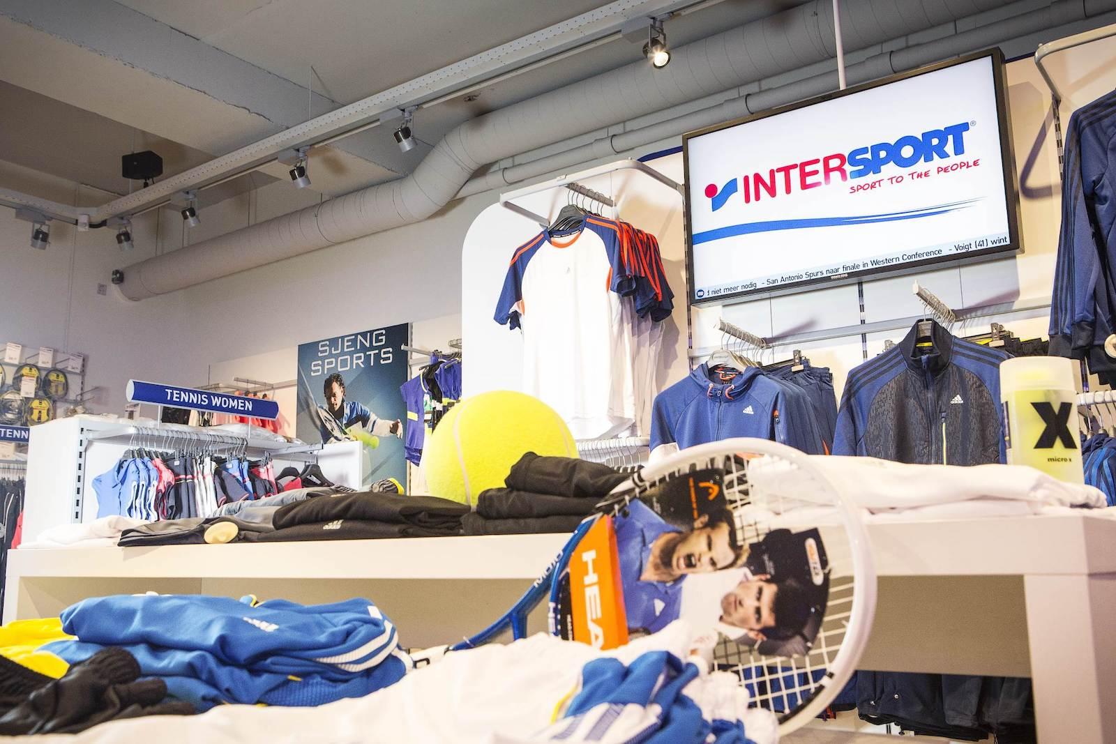ZetaDisplay voor Intersport